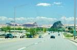 Main St; Kayenta, AZ; Monuments everywhere!